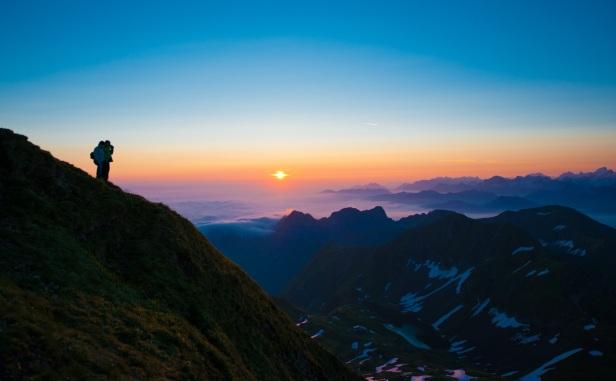 Sonnenaufgang auf Brienzer Rothorn