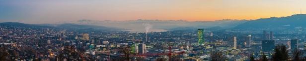 Zürich Skyline Panorama
