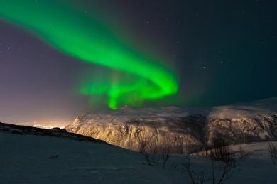 Nordlichter bei Tromsö