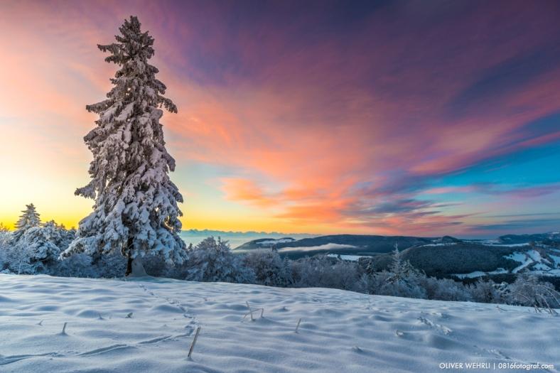Passwang, Winter, Jura