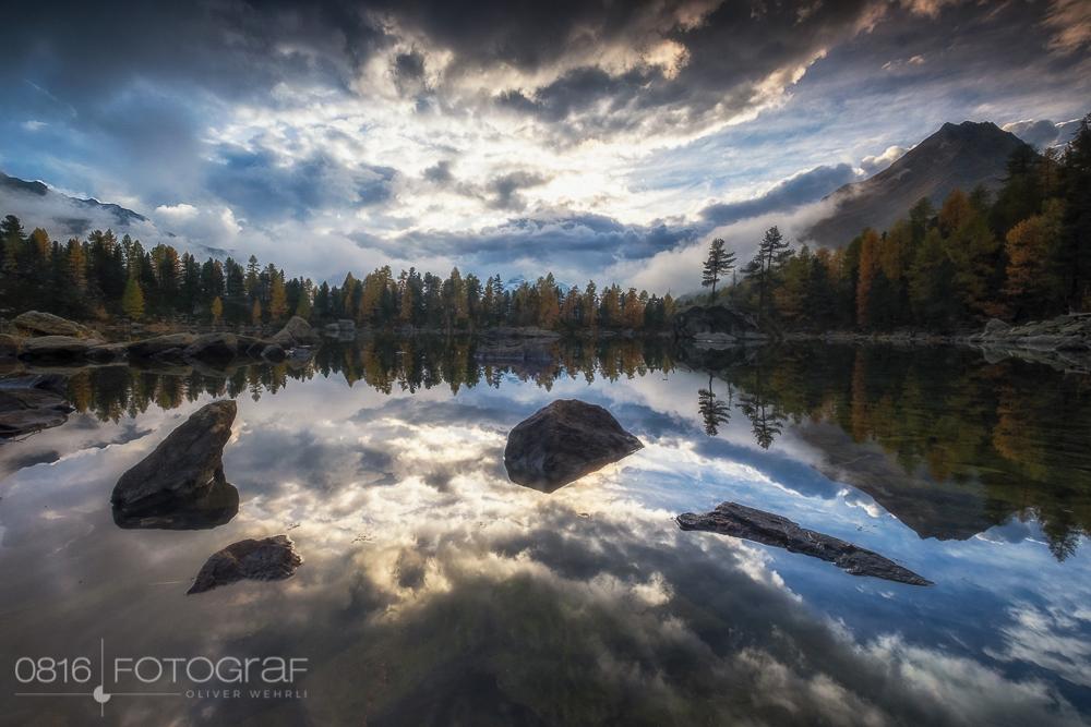 Der Lago Saoseo im Val di Campo im Puschlav