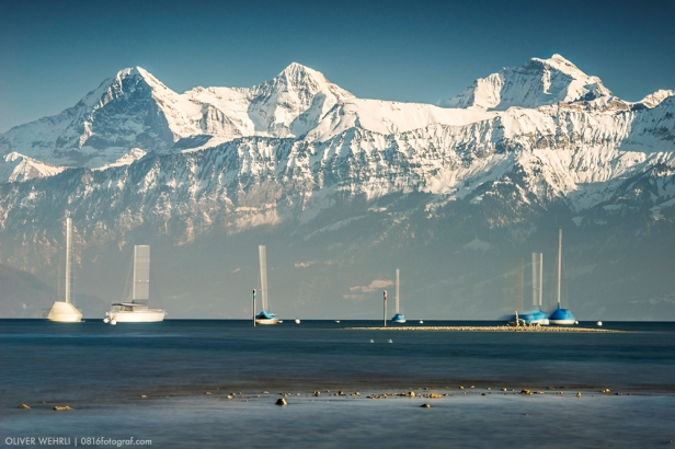 """Bewegte Boote for """"Eiger, Mönch und Jungfrau"""""""