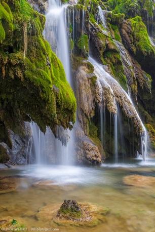 Cascades des Tufs, Jura France