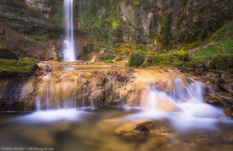 Wasserfall Linn, Aargau, Linner Wasserfall, Sagimülitäli