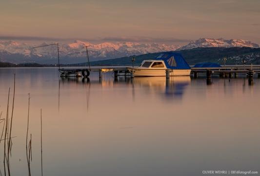 Das Fischerboot - Hallwilersee