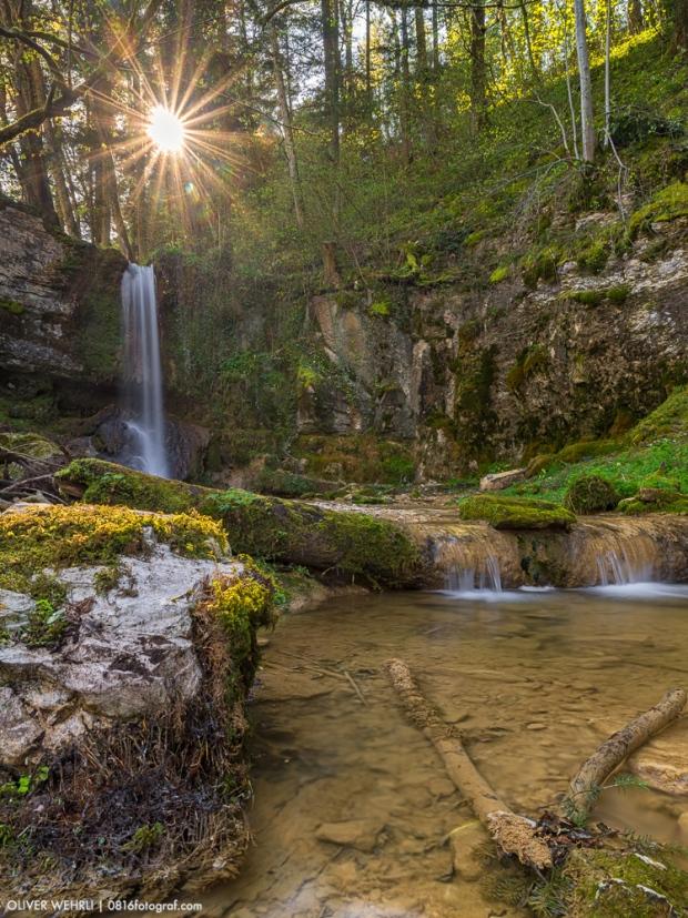 Linner Wasserfall, Wasserfall, Aargau,