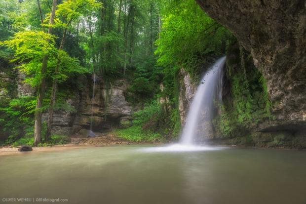 Giessen Wasserfall, Eital, Kilchberg, Baselland, Wasser, Bach