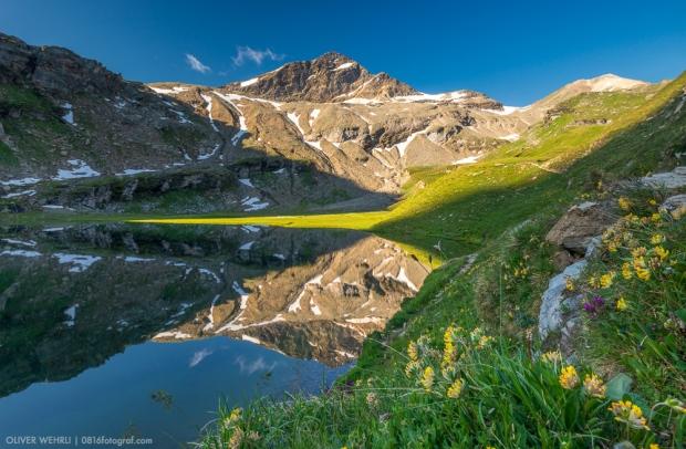 Bergsee, Valsertal, Guraletschsee