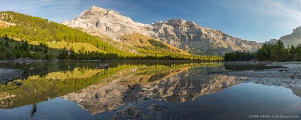 Bergsee, Herbst, Wallis, Unterwallis, Lac de Derborence, Derborence, Diablerets