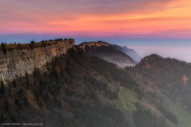 Grenchenberg, Schweizer Jura, Jura, Sonnenuntergang, Fuji X-T1, Landschaft