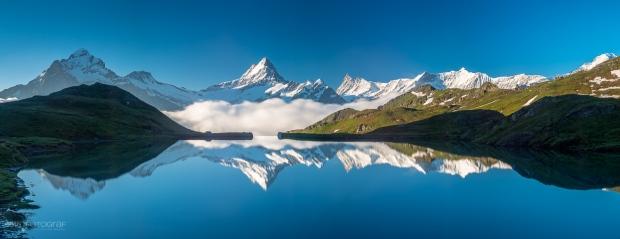 Bachalpsee, Schreckhorn, Bergsee, Berner Oberland