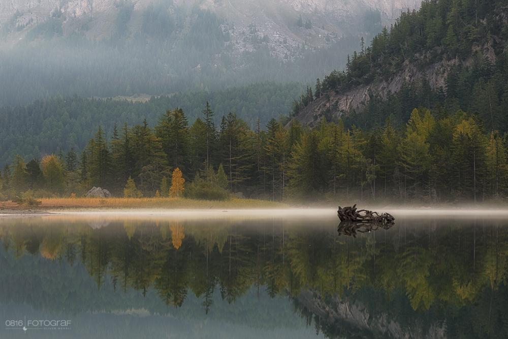 Bergsee, Herbst, Wallis, Unterwallis, Lac de Derborence, Derborence, Diablerets, Herbstfoto, Landschaftsfotografie