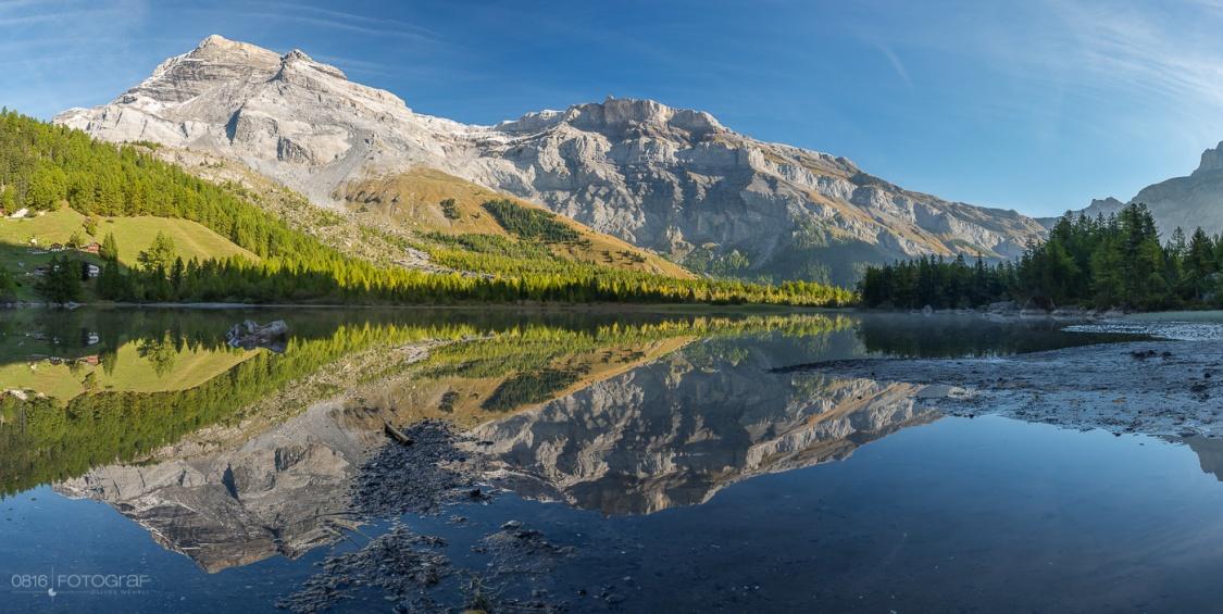 Lac de Derborence, Wallis, Schweiz, Herbst, Herbstfoto, Landschaftsfotografie