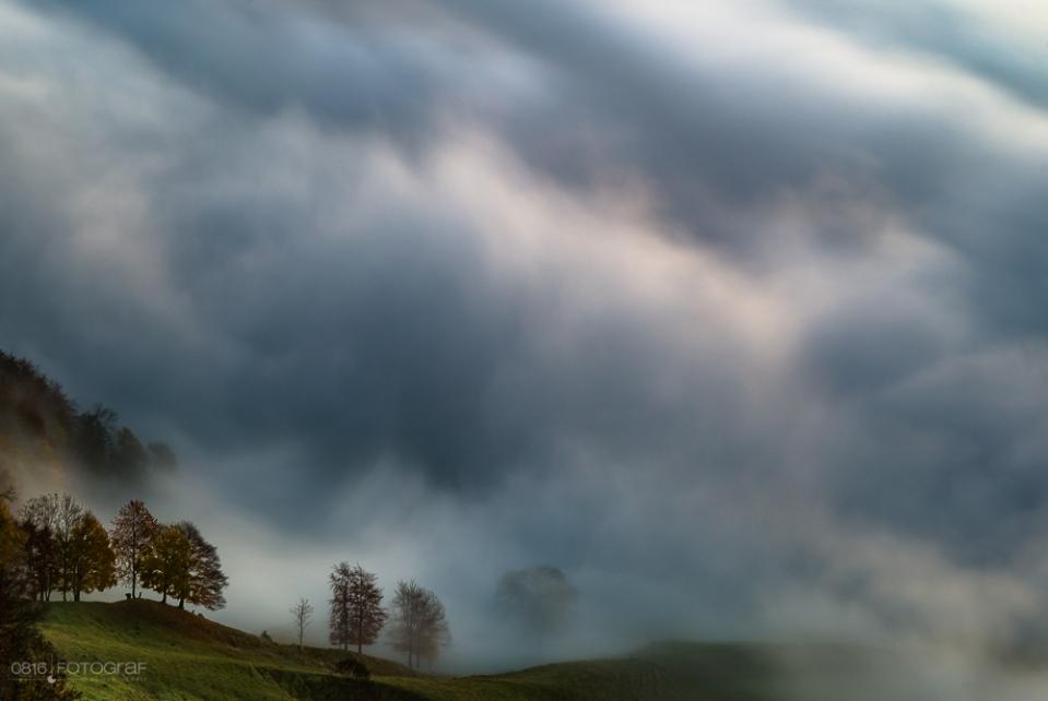 Schweizer Jura, Passwang, Moren, Nebel, Morgennebel, Nebelstimmung