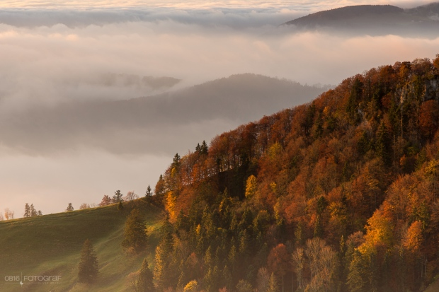 Passwang, Jura, Herbst, Nebel, Herbstfoto, Landschaftsfotografie