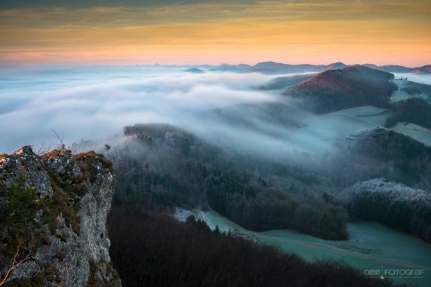 fliessender Nebel