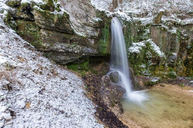 Winter, Wasserfall, Aargau, Linn, Linner Wasserfall