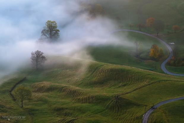 Passwang, Jura, Schweiz, Herbst, Nebel, Herbstfoto, Landschaftsfotografie