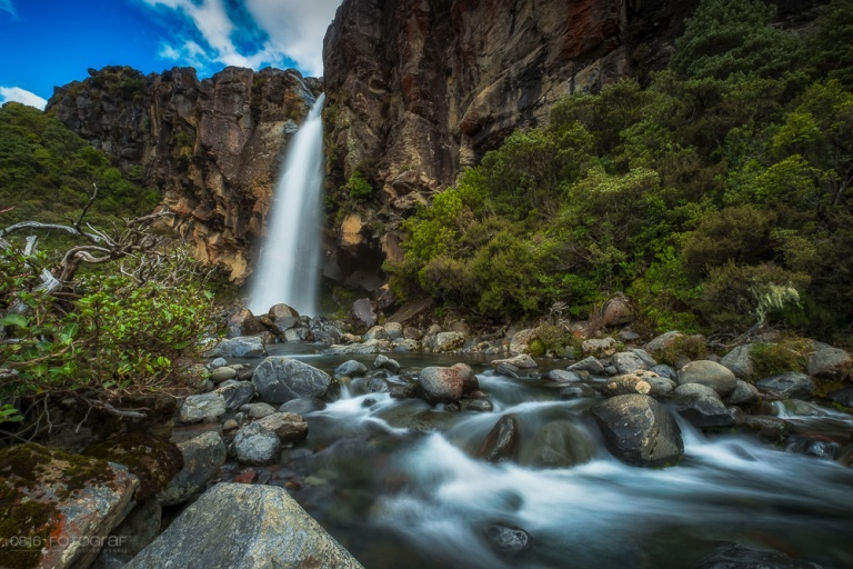 Taranaki Waterfall, Taranaki, Wasserfall, Waterfall, New Zealand, Neuseeland, Tongariro, Tongariro Nationalpark,