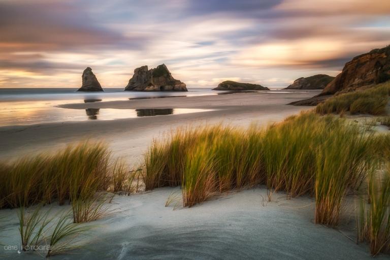 Wharariki Beach, New Zealand, Neuseeland, Wharariki
