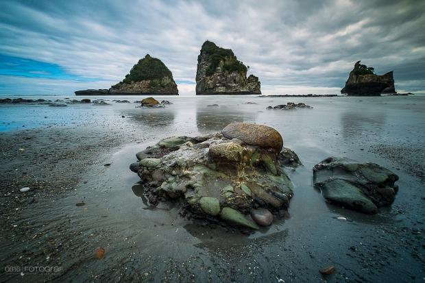 Neuseeland, Motukiekie Beach, New Zealand, Sea, Meer, Landscape, Landschaft