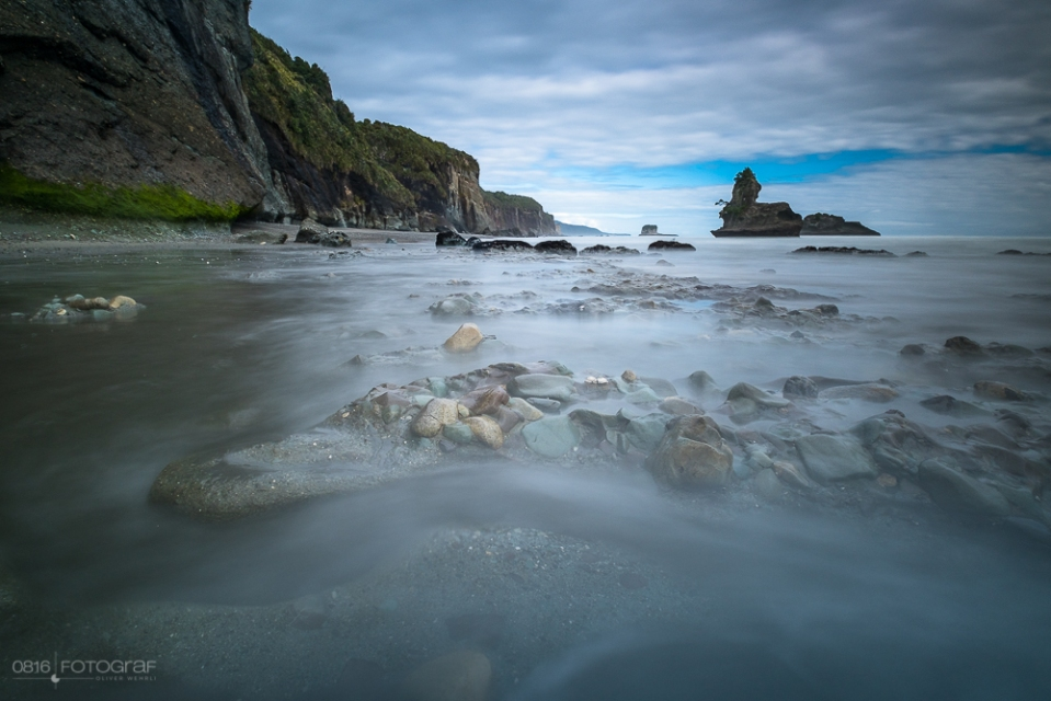 Neuseeland, Motukiekie Beach, New Zealand, Sea, Meer, Landscape, Landschaft