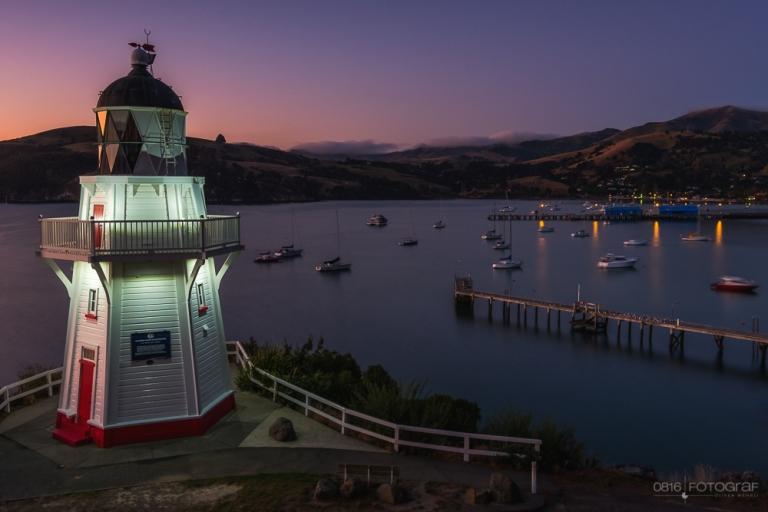 Akaroa, Canterbury, Halbinsel, Südinsel, Wharf, Dalys Wharf, Neuseeland, meeresbucht,
