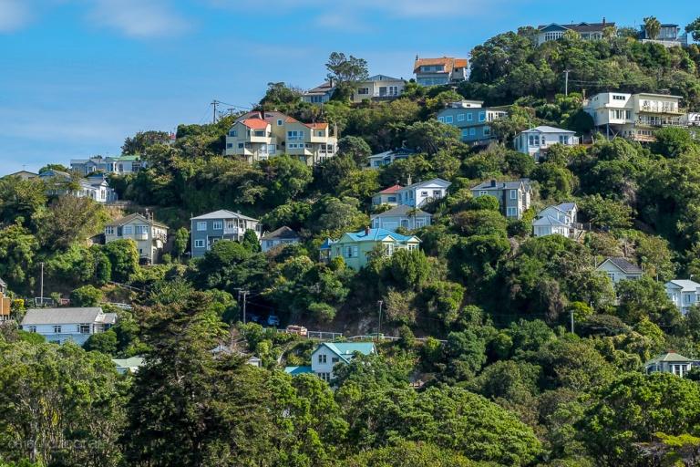 Neuseeland, Wellington, Cable Car, Stadt, Hafenstadt, Neuseeland, New Zealand,