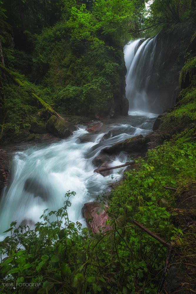 Murgbachfall, Murgbach, Murg, Wasserfall, Wasser, Wasserfälle, Verrucano Stein