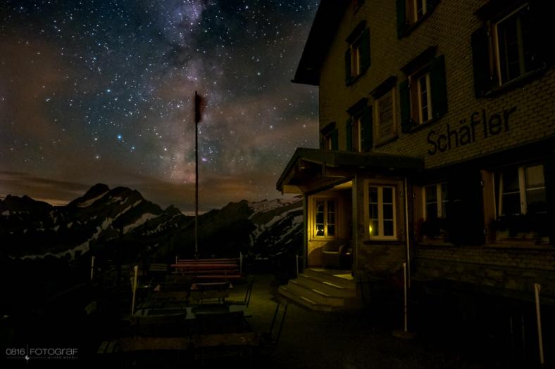 Schäfler, Appenzell, Alpstein, Sonnenuntergang