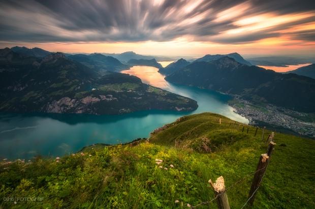 Fronalpstock, Sonnenuntergang, zentralschweiz, Stoos, Schwyz, Bergsicht, Sommer, Landschaftsfotografie, Fujifilm-X, X-Pro2,