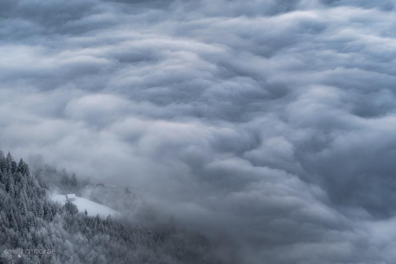 Niederbauen, Zentralschweiz, Winter, Winterlandschaft, Landschaftsfotografie, Sonnenuntergang, Sunrise, Nebelmeer, Fujifilm, Fuji X-Pro2, Alpen, Bergsicht, Landschaftsfotograf, Landscape, Swiss Landscape, Schweiz, Nidwalden, Vierwaldstättersee, Nebel