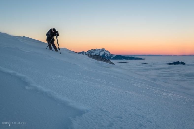 Reto Savoca, Niederbauen, Winter