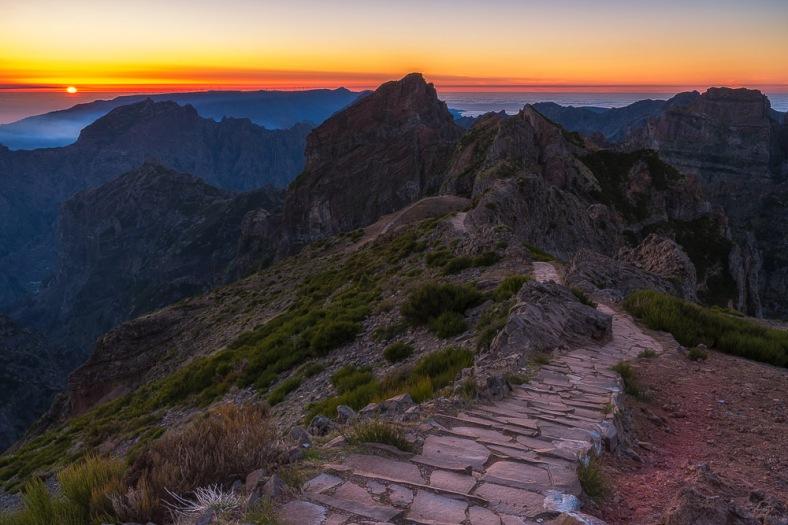 Pico Arieiro, Landschaftsfotografie, Fujifilm GFX, Madeira, Sunset Madeira, Landschaftsfotografie Madeira, Landscape Madeira