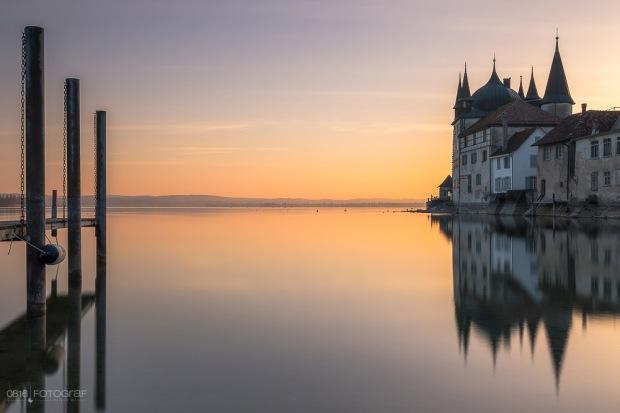 Steckborn, Bodensee, Altstadt, Stadtansicht, Städteansichten, Schweiz, Stadtansicht Schweiz, Thurgau, Städtefotografie Schweiz, Sonnenaufgang, Sunrise, Fujifilm, Fujifilm GFX, Nisi Filter,