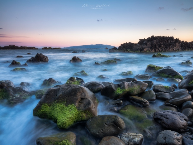 Corvo, Sunset, Abendstimmung, Sonnenuntergang, Meer, Küste, Landschaft, Landschaftsfotografie, GFX, Mittelformatkamera, Azoren
