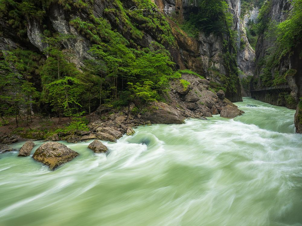 Aareschlucht, Aare, Fluss, Schweiz, Landschaftsfoto Aareschlucht, Fotografie Aareschlucht, Berner Oberland, Schweiz, Landschaftsfotografie, Fujifilm, Fluss, Wasserfotografie