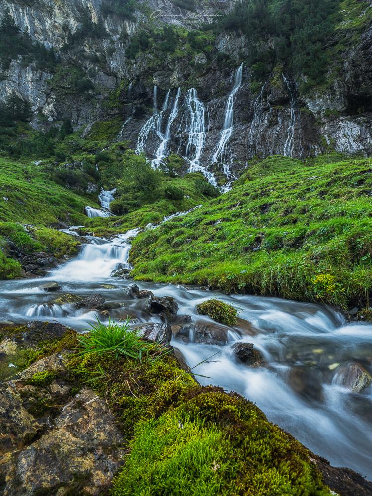 Wasserfall, Schweiz, Landschaftsfotografie, Gental, Berner Oberland, Bergsee Schweiz, Swiss mountain lake, landscape photography, landschaftsfotograf, fujifilm, gfx, mittelformat,