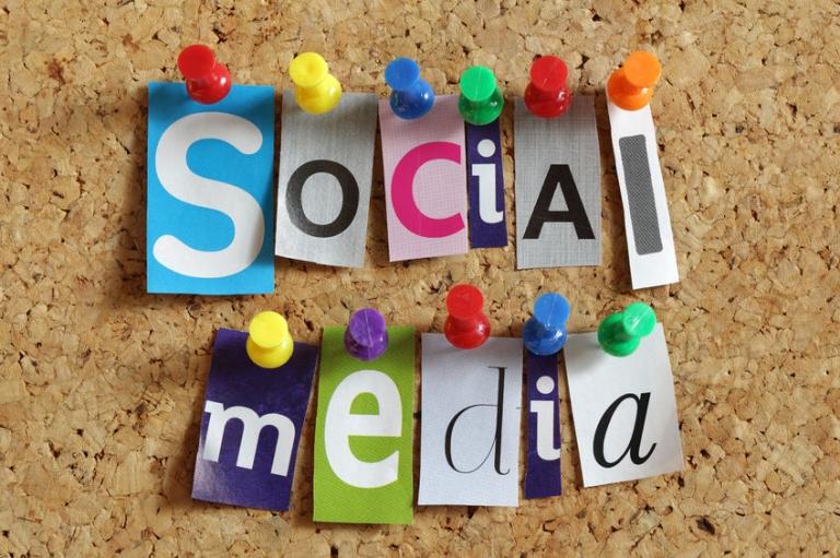 schnelllebiges social media